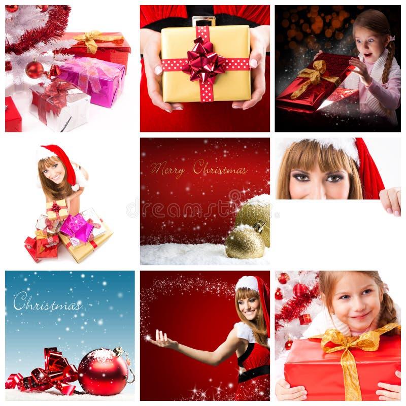 Miscela di Natale immagini stock