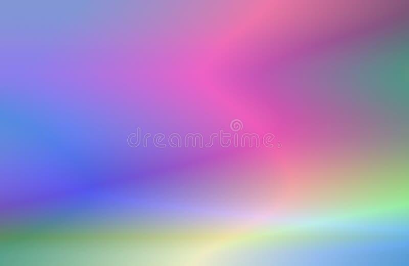 Miscela di spettro illustrazione vettoriale