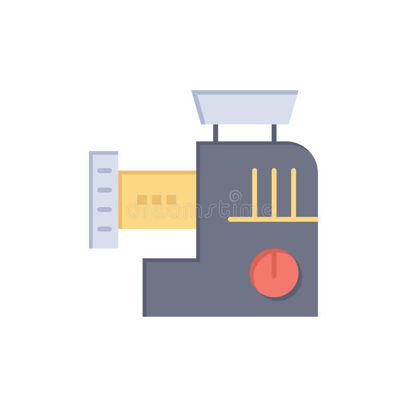 Miscelatore, cucina, manuale, icona piana di colore della miscela Modello dell'insegna dell'icona di vettore royalty illustrazione gratis