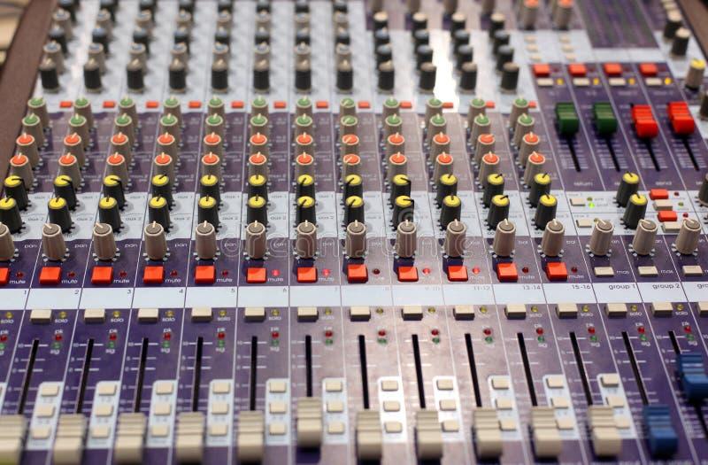 Miscelatore sano radiofonico immagine stock libera da diritti
