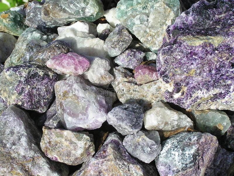 Miscele delle rocce immagini stock libere da diritti