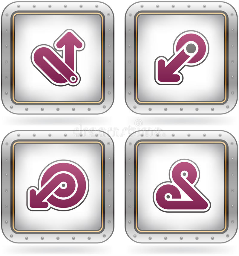 Free Miscellaneous Icons Royalty Free Stock Photos - 21167638