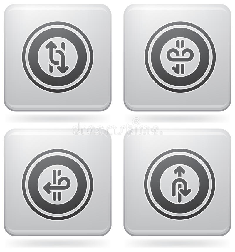 Download Miscellaneous Platinum Icons Stock Vector - Image: 15361522