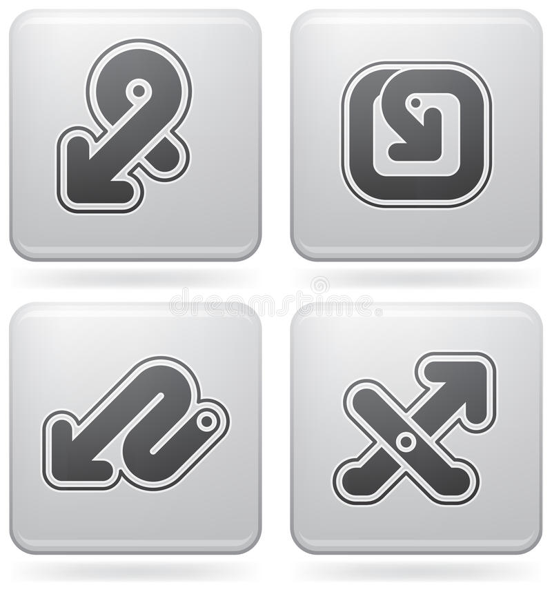 Download Miscellaneous Platinum Icons Stock Vector - Image: 15364369