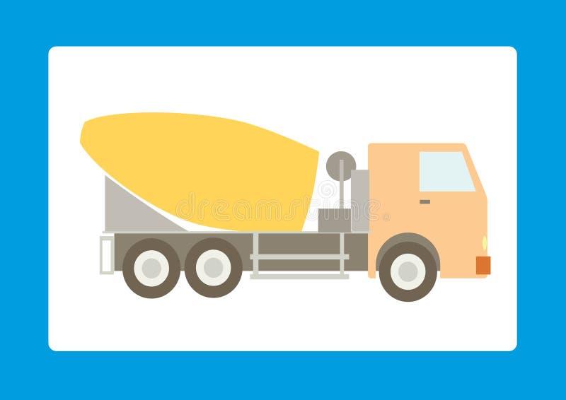 Download Mischer stock vector. Image of heavy, strength, equipment - 11794004