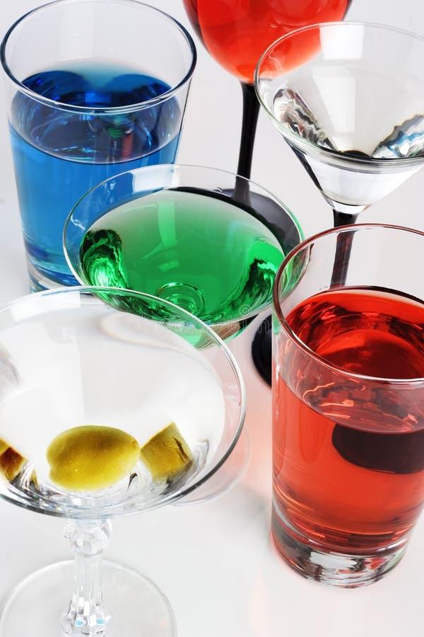 Mischgetränke stockbild. Bild von alkohol, hell, wodka - 3537719