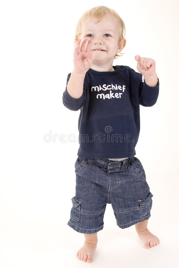 Mischief Maker 1 stock photography