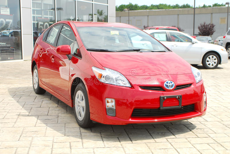 Mischling 2011 Toyota-Prius lizenzfreie stockfotografie