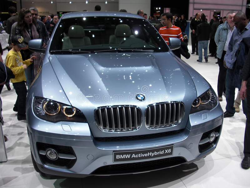 Mischling BMW-X6 stockfotos