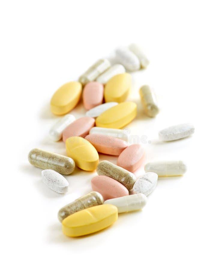 Mischung der Vitamine lizenzfreie stockfotografie