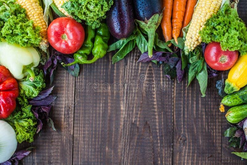 Mischung des gesunden Gemüses stockfotografie