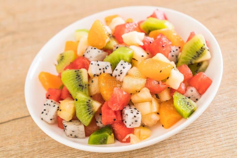 Mischung geschnittene Früchte lizenzfreies stockbild