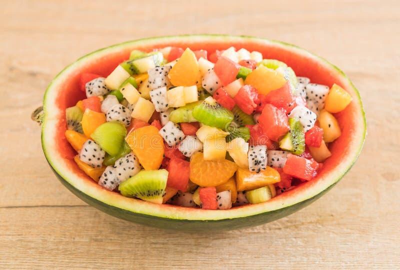 Mischung geschnittene Früchte lizenzfreie stockfotos