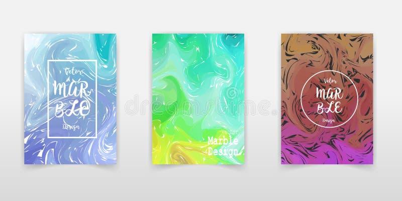 Mischung von Acrylfarben Fl?ssige Marmorbeschaffenheit Fl?ssige Kunst Anwendbar f?r Designabdeckung, Darstellung, Einladung, Flie lizenzfreie abbildung