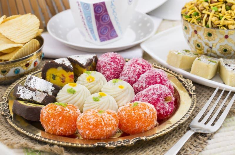 Mischungs-Bonbon-Lebensmittel lizenzfreie stockbilder