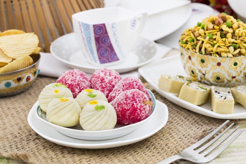 Mischungs-Bonbon-Lebensmittel stockfoto