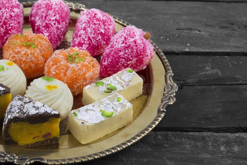 Mischungs-Bonbon-Lebensmittel lizenzfreie stockfotografie