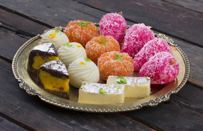 Mischungs-Bonbon-Lebensmittel stockfotos