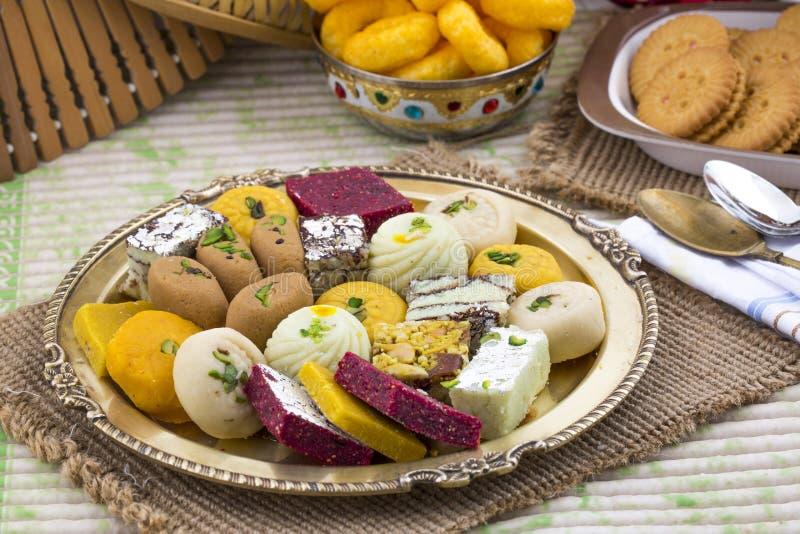 Mischungs-Bonbon-Lebensmittel lizenzfreies stockfoto