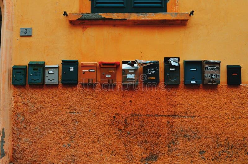 Miscuglio del Postbox fotografie stock libere da diritti