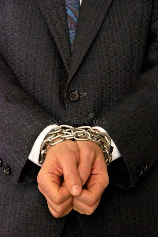 Misdaden in bussiness royalty-vrije stock afbeelding