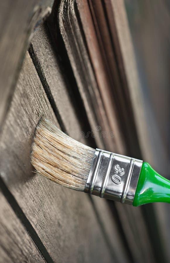Mise à jour des surfaces en bois images stock