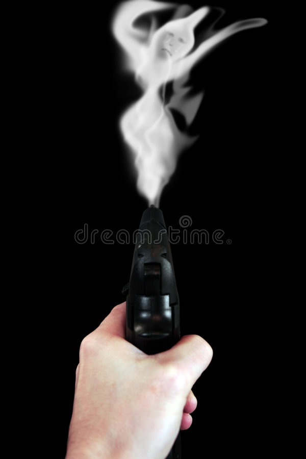 Mise à mort de canons photos stock
