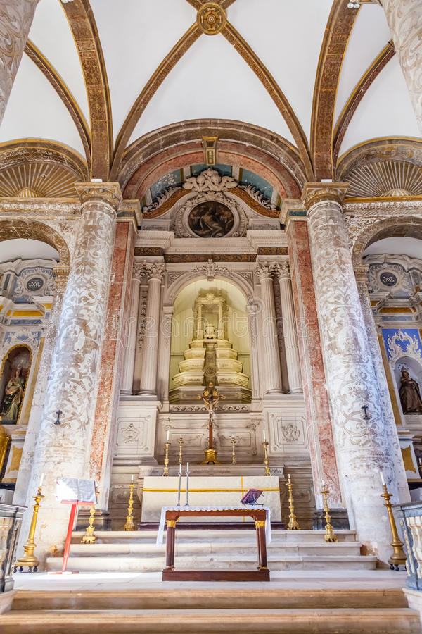 Download Misericordia Church Altar. 16th Century Hall-Church In Late  Renaissance Architecture. Editorial