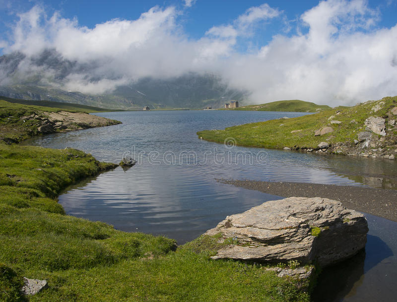 Download Miserin Lake In Champorcher Valley Stock Photo - Image: 33601154