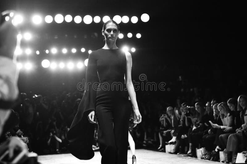 MISHA collection fashion week royalty free stock photos