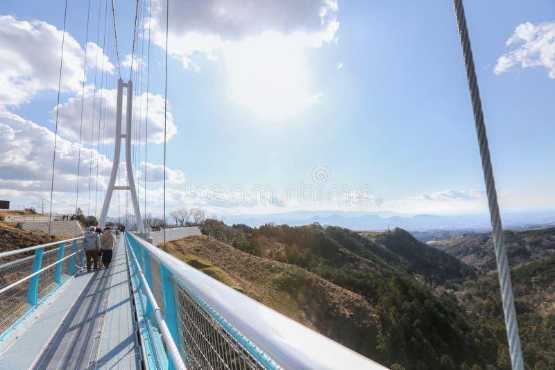 Mishima skywalk stock foto's