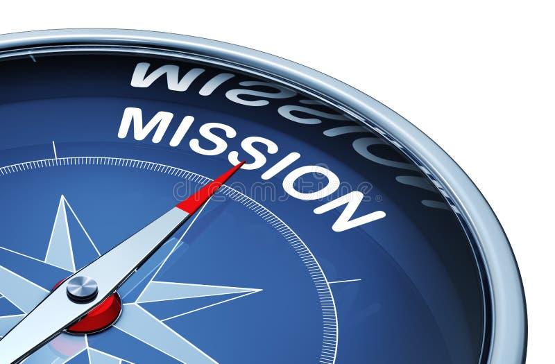 misión stock de ilustración