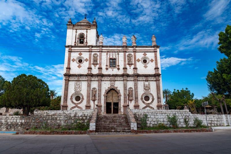 Misión Baja California de San Ignacio imagen de archivo libre de regalías