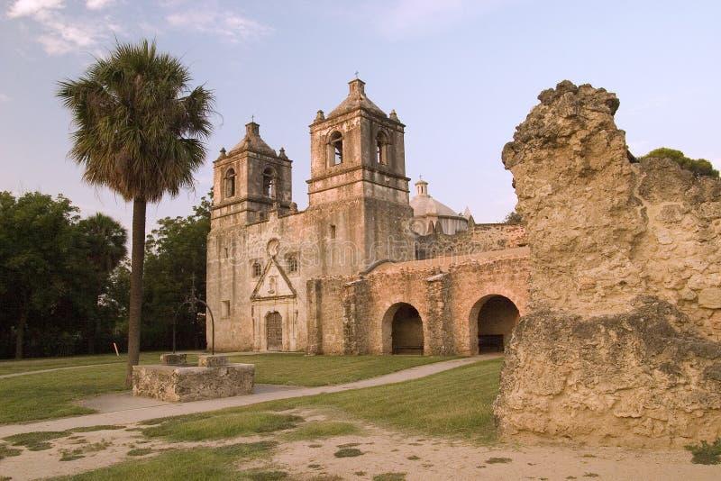Misión de San Antonio imagen de archivo