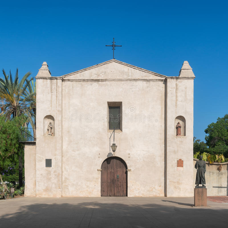 Misión San Gabriel Arcangel fotos de archivo libres de regalías