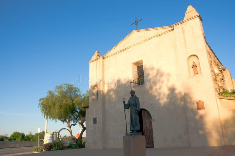 Misión San Gabriel Archangel fotografía de archivo