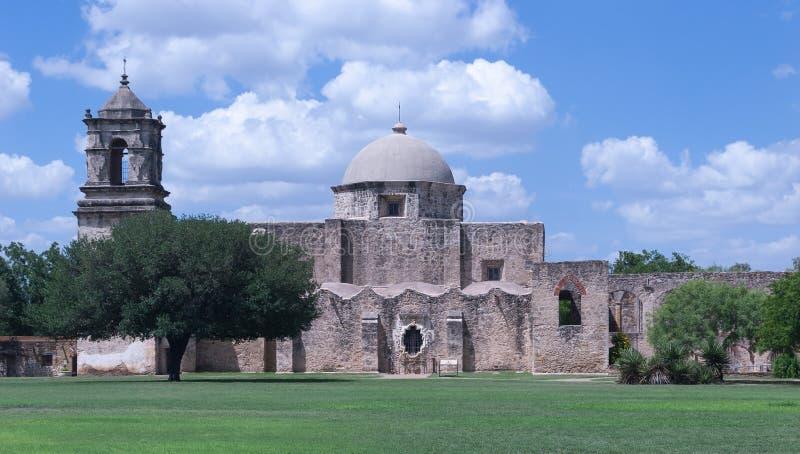 Misión San Jose en San Antonio, TX foto de archivo