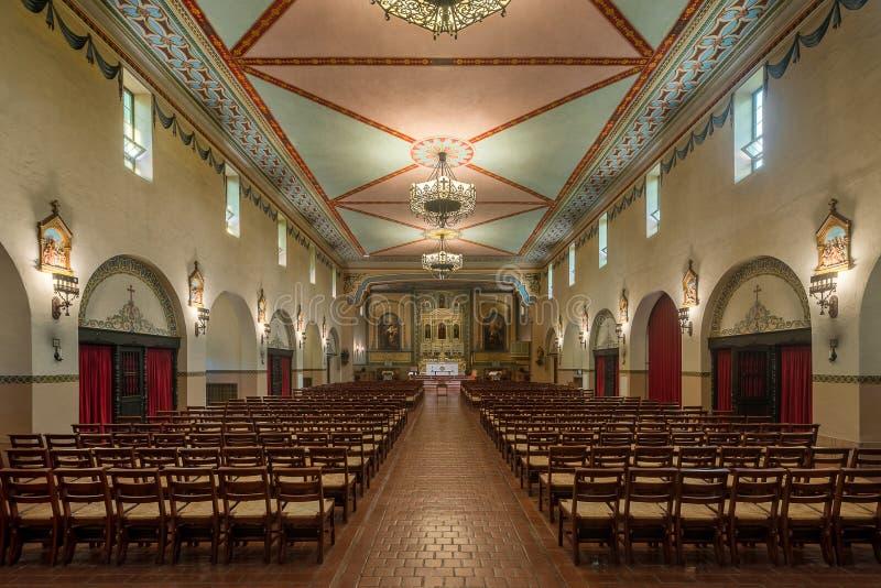 Misión Santa Clara foto de archivo libre de regalías