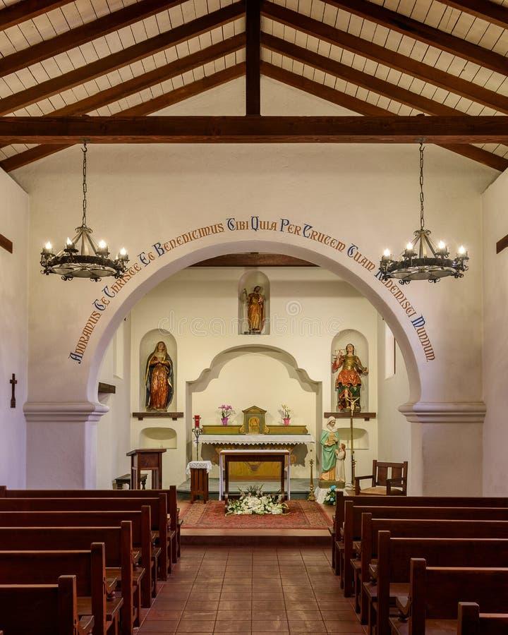 Misión Santa Cruz foto de archivo
