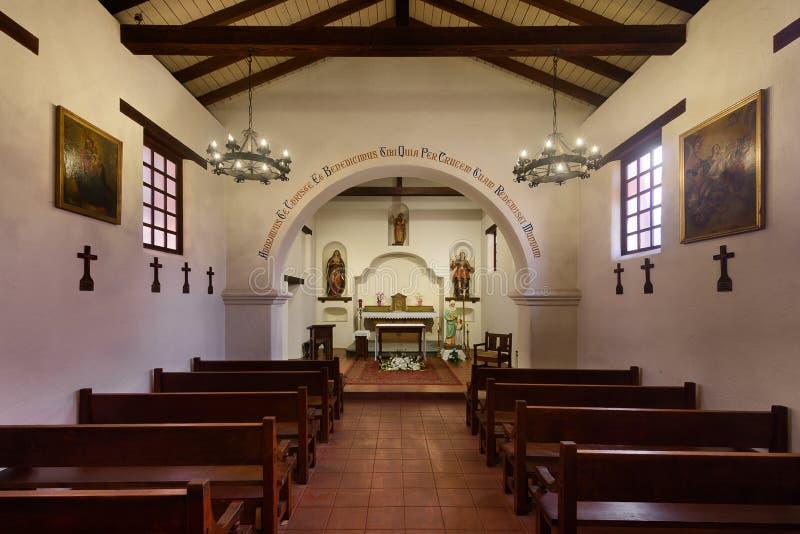 Misión Santa Cruz fotos de archivo