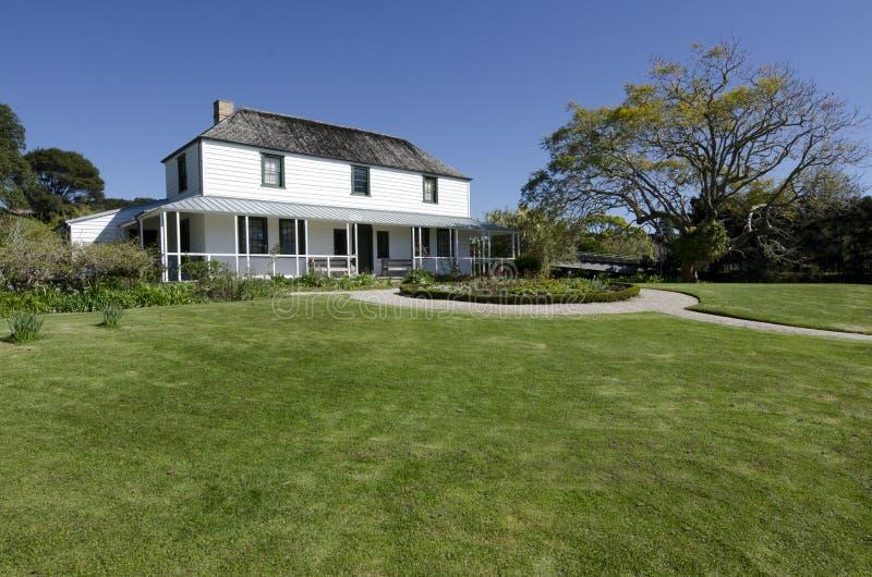 Misi Kemp Stacyjny dom w Kerikeri obrazy stock