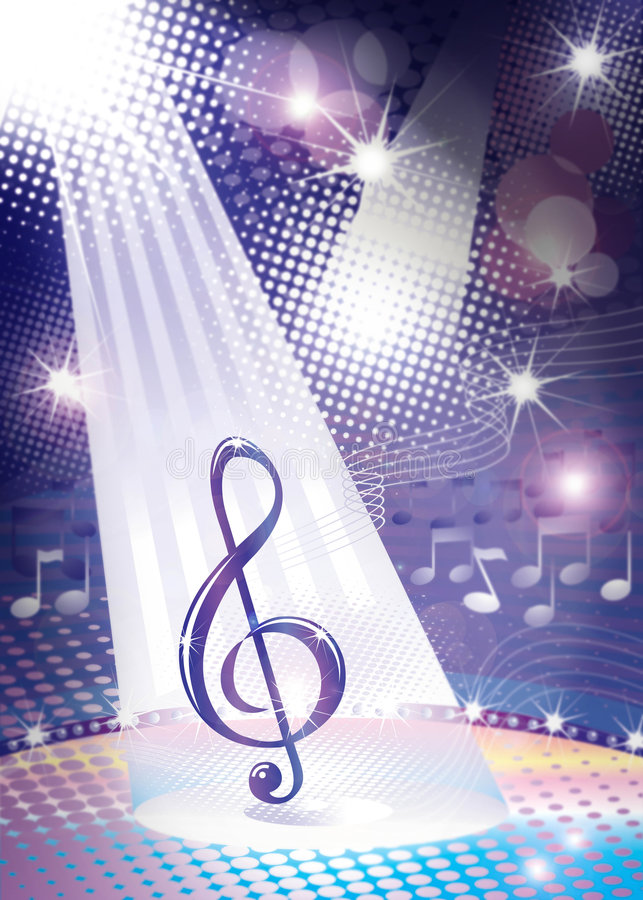 Download Misic stock illustration. Image of lines, melody, entertainment - 3637372