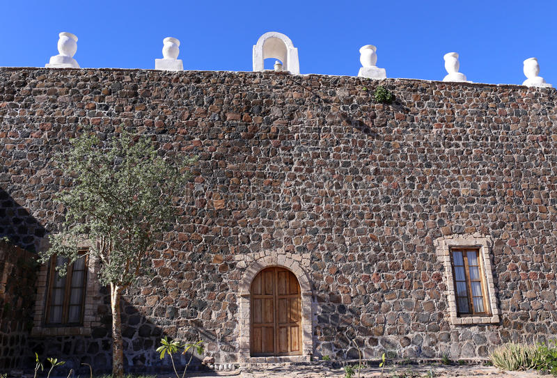Mision Santa Rosalia de Mulege, Baja California fotos de stock royalty free
