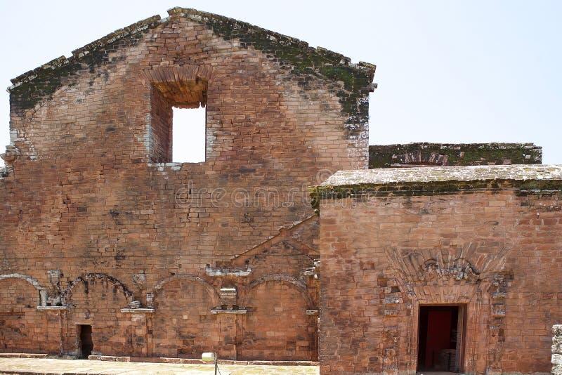 Misiones de la jesuita del La Santisima Trinidad de ParanÃ, Paraguay foto de archivo
