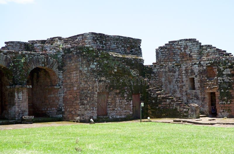Misiones de la jesuita del La Santisima Trinidad de ParanÃ, Paraguay fotografía de archivo libre de regalías