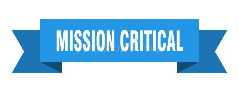 misja krytyczny faborek ilustracja wektor