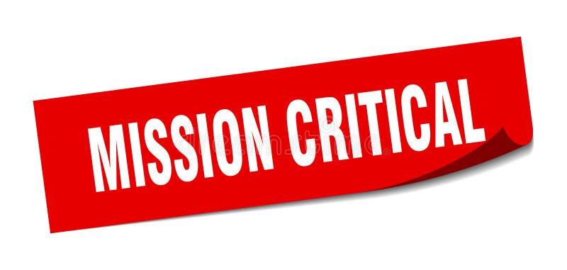 misja krytyczny majcher ilustracji