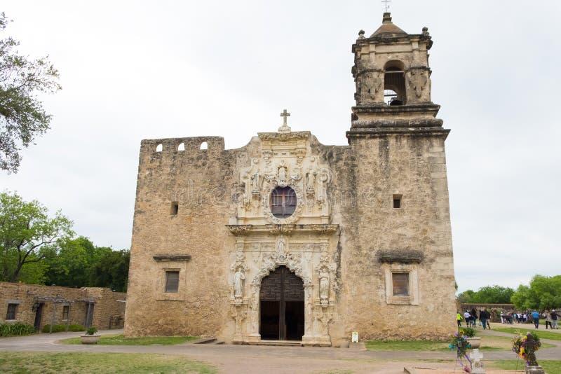 Misja San Jose San Antonio Teksas fotografia stock