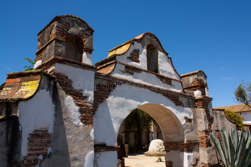 Misja San Miguel Arcangel zdjęcia stock