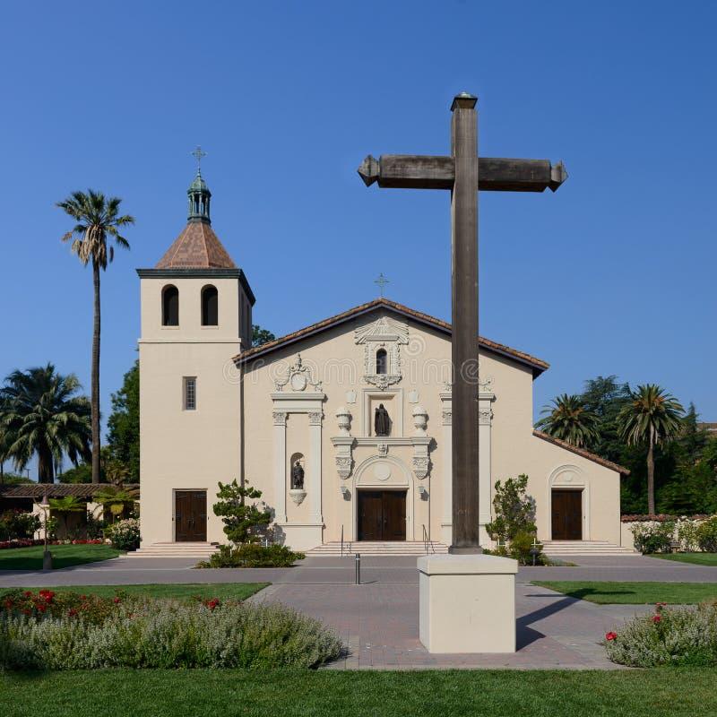 Misja Santa Clara fotografia stock